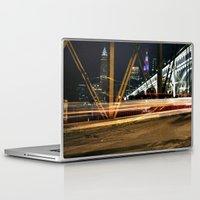 cleveland Laptop & iPad Skins featuring Cleveland Streaks  by ILiveinohio
