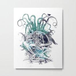 strange artefact amusement park Metal Print