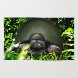 Slow Commando - Army Turtle Rug