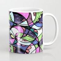 wonderland Mugs featuring WONDERLAND by JESSIE WEITZ