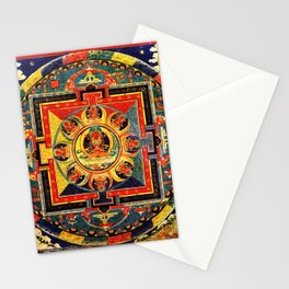 Buddhist Mandala Amitayus Buddha Amitabha Stationery Cards