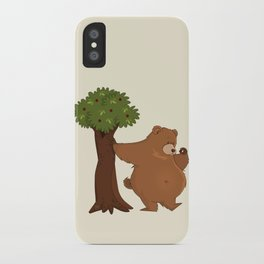 Bear and Madrono iPhone Case
