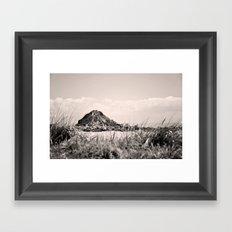 Monkey Island, Southland, New Zealand Framed Art Print