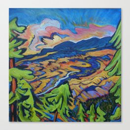 Fire Dragon, Pine Mtn. Canvas Print
