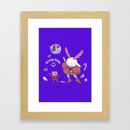 Bunnie Framed Art Print