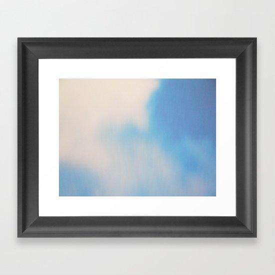 Oh. Lightness Framed Art Print