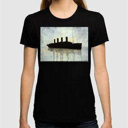 Titanic watercolour T-shirt