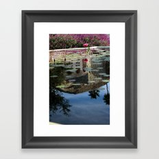 Reflections of you Framed Art Print