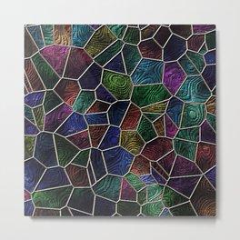 Mosaic LORA,multicolor Metal Print
