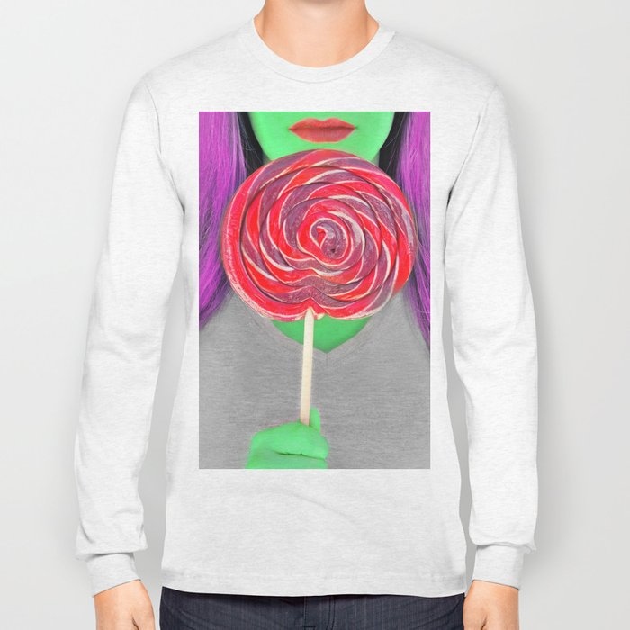 Space Lollipop Long Sleeve T-shirt