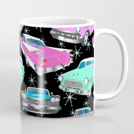 Retro Fins + Fenders in Black Sky Coffee Mug