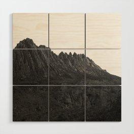 Cradle Mountain Wood Wall Art