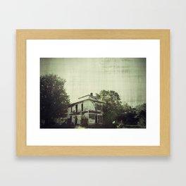 The Williamsburg Plantation Framed Art Print
