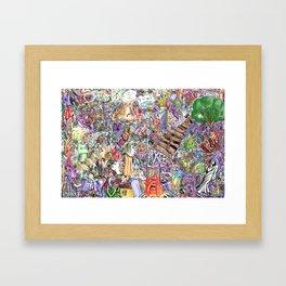 collective ink, VeinEye edition Framed Art Print