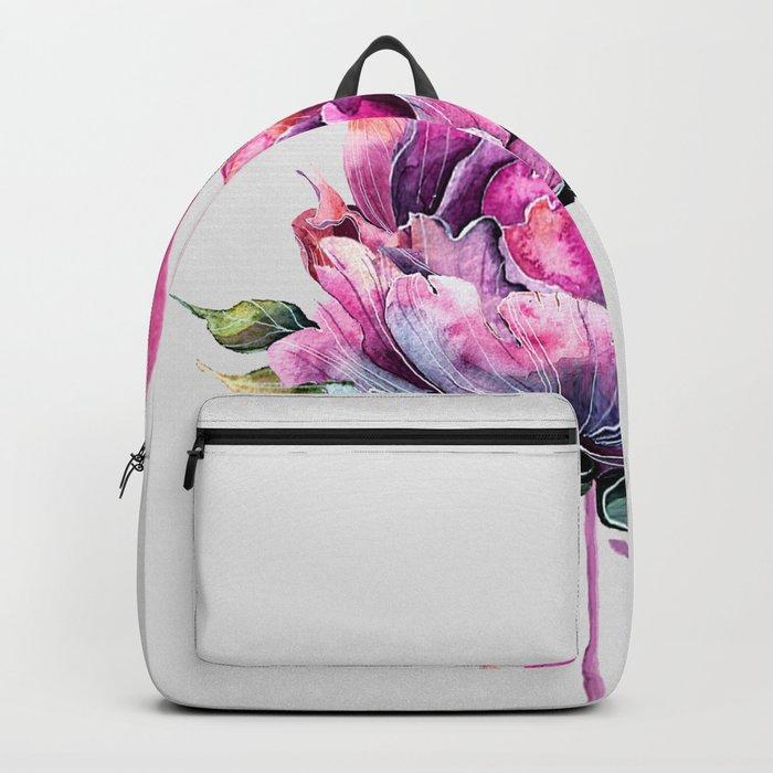 Flower Flamingo Rucksack