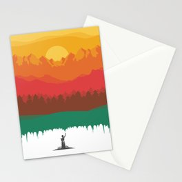 Layers Of Nature Stationery Cards