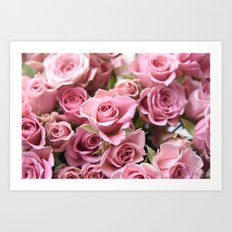 Morning Blush... Art Print