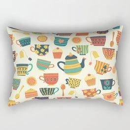 Tea Time Pattern - Sweet Treats Rectangular Pillow
