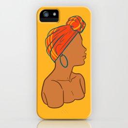 Melanin 1 iPhone Case