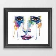 words gone Framed Art Print