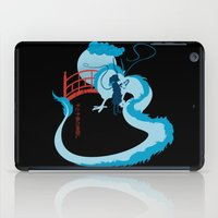 spirited away iPad Cases featuring Spirited by IlonaHibernis