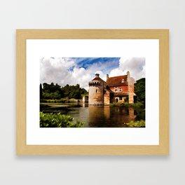 Scotney Castle Framed Art Print