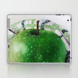 Green Apple and Tea Towel III Laptop & iPad Skin
