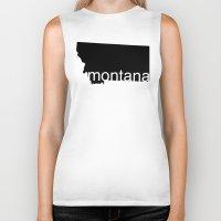 montana Biker Tanks featuring Montana by Isabel Moreno-Garcia