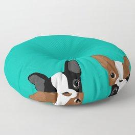 Boston Terriers Floor Pillow