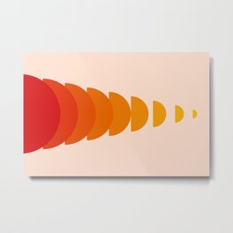 Abstraction_Sunset_Modernism_ART_Minimalism_001 Metal Print