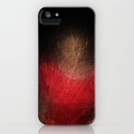 Somewhere in the woods. iPhone Case