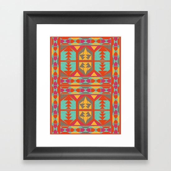 Neo Native Framed Art Print