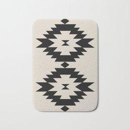 Southwestern Minimalism - Black Bath Mat