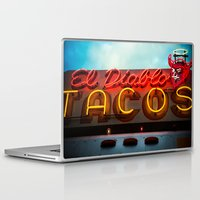 diablo Laptop & iPad Skins featuring El Diablo by Phil Provencio