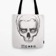 Gregory House Skull House MD Art Tote Bag