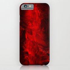 Cool Red Duvet Cover iPhone 6s Slim Case
