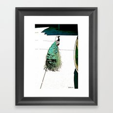Hi Handsome! Framed Art Print