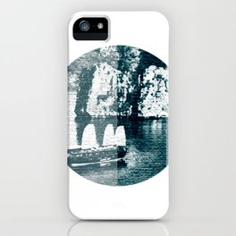 Bai Tho Junks Halong Bay Vietnam iPhone Case