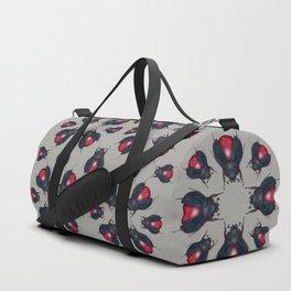 Red Jasper Beetle Duffle Bag