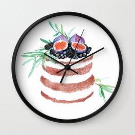 Fig Cake Wall Clock