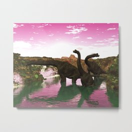 Brachiosaurus Metal Print