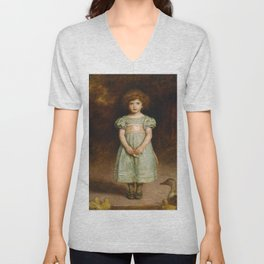 John Everett Millais - Ducklings Unisex V-Neck