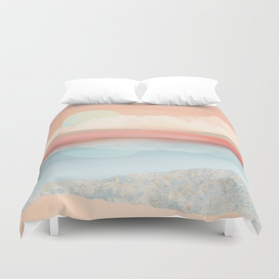 Mint Moon Beach by spacefrogdesigns