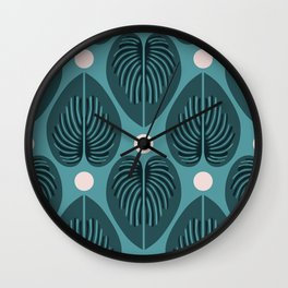 Hjärtblad Wall Clock