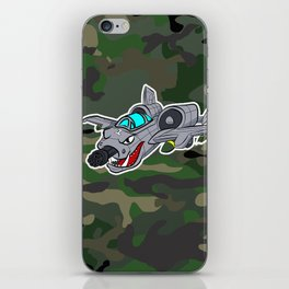 Flying Warthog iPhone Skin