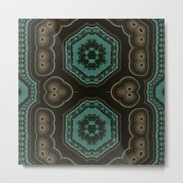 Hoodlum's 118 Pattern 4 Metal Print