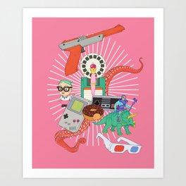 Nurture your inner geek 04 Art Print