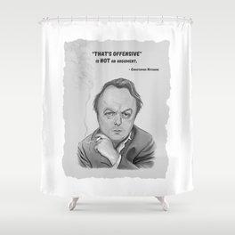 Hitchens Shower Curtain