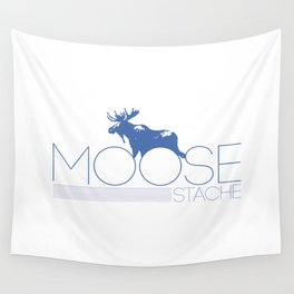 moose stache Wall Tapestry