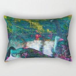 Duck art Rectangular Pillow